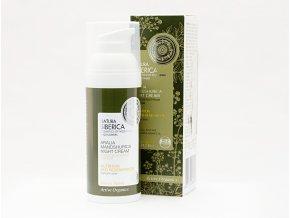 Natura Siberica – Nočný krém na tvár pre suchú pokožku s aráliou mandžurskou - 50 ml