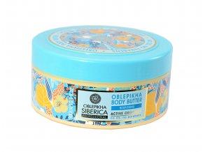 Natura Siberica - Rakytníkové telové maslo - 300 ml