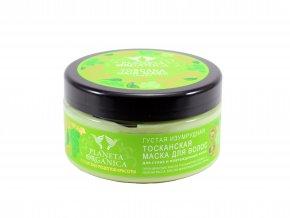 Planeta Organica Toskánska vlasová maska pre suché a poškodené vlasy - 300 ml