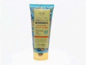 Natura Siberica Professional - rakytníkový organický peeling pre vlasovú pokožku - 200 ml