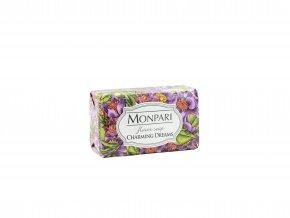 MONPARI- Tuhé toaletné parfemované mydlo Čarovné sny-200g