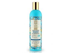 Natura Siberica Professional – rakytníkový šampón s efektom laminovania pre oslabene a zničené vlasy - 400 ml