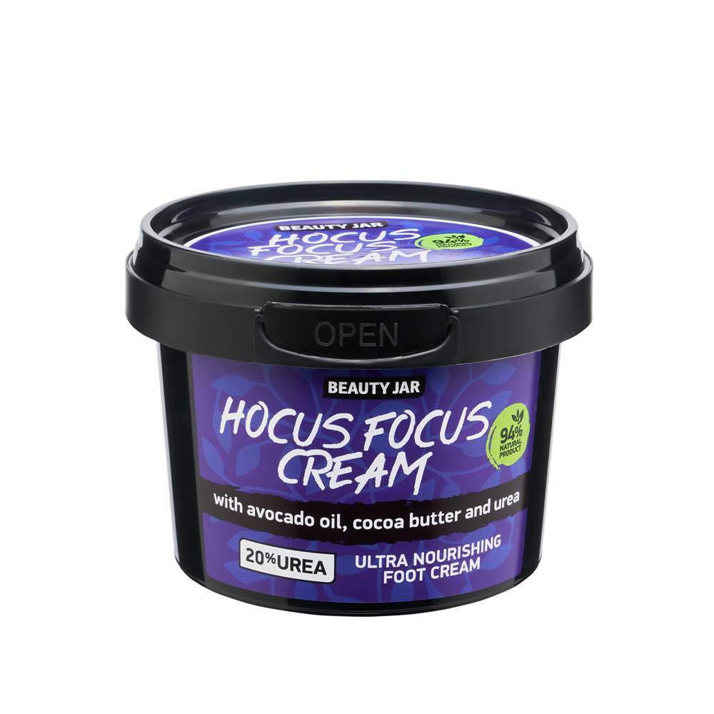 Beauty Jar - HOCUS FOCUS CREAM krém na nohy 100 ml