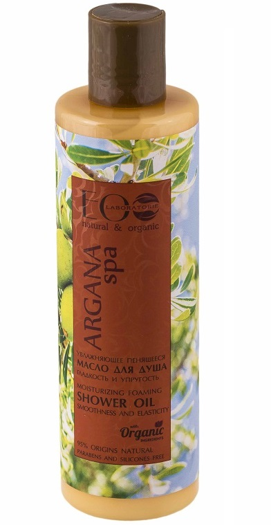 EOLab - Argan Spa - hydratačný sprchový gél, olejový - 350ml