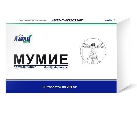 Mumio - 200g - 60 tabliet