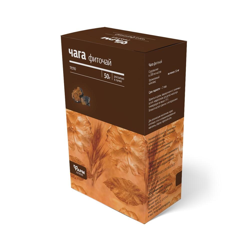 Meandra Čaga čaj – ryšavec šikmý (fyto čaj) 50 g