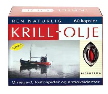 Krill olej - Biopharma - 60 kapsúl