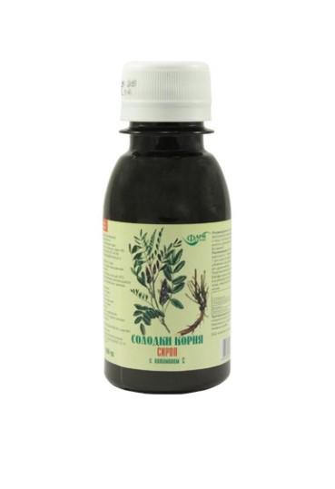 Healt Sirup zo sladkého drievka s vitamínom C na kašeľ a imunitu - Farmgrupp - 100 ml