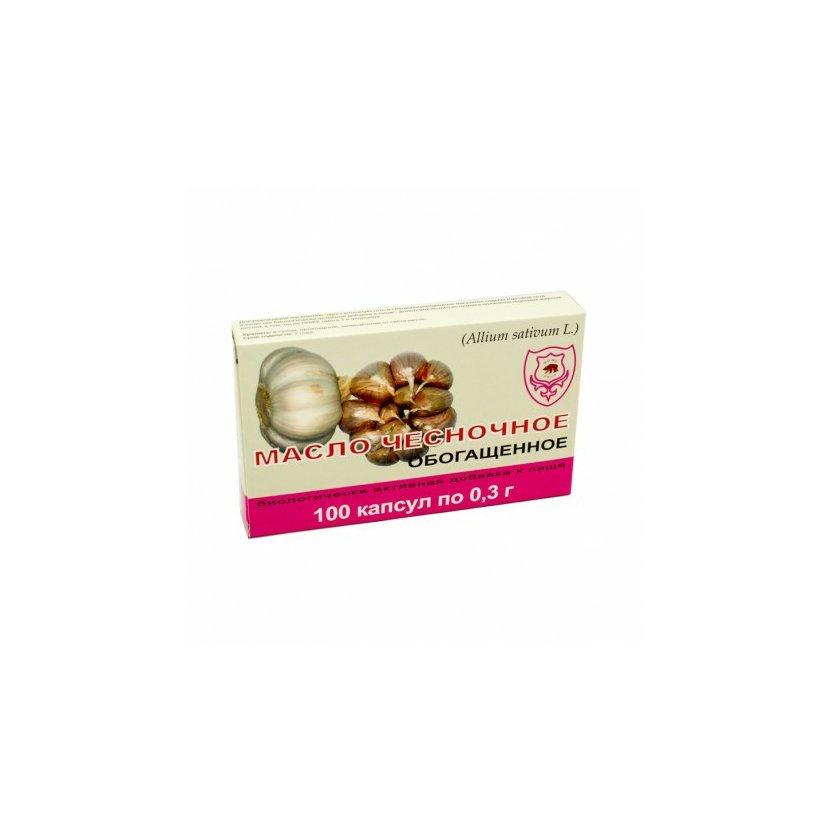 Obohatený cesnakový olej na posilnenie organizmu - Fitosila - 100 tabletiek