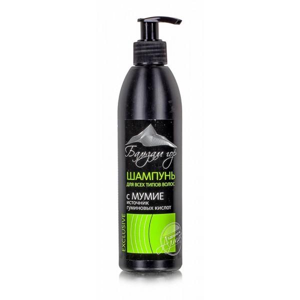 Šampón na vlasy s Mumiom - Mountain balm - Farm Produkt - 300 ml