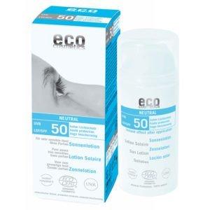 Opaľovací krém Neutral bez parfumácie SPF 50, Bio - Eco Cosmetics - 100ml