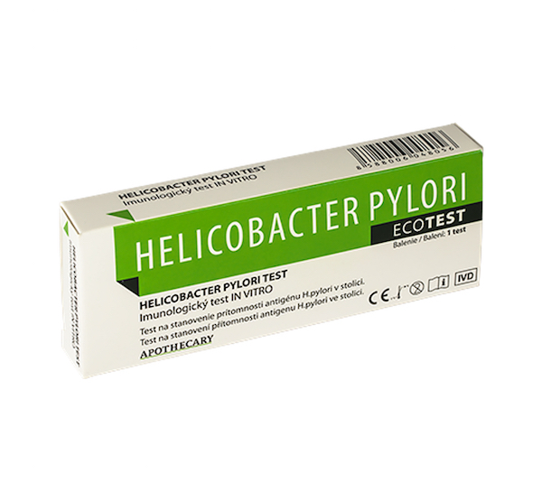 Masticha Terapia Helikobakter test na prítomnosť baktérie - 1 ks