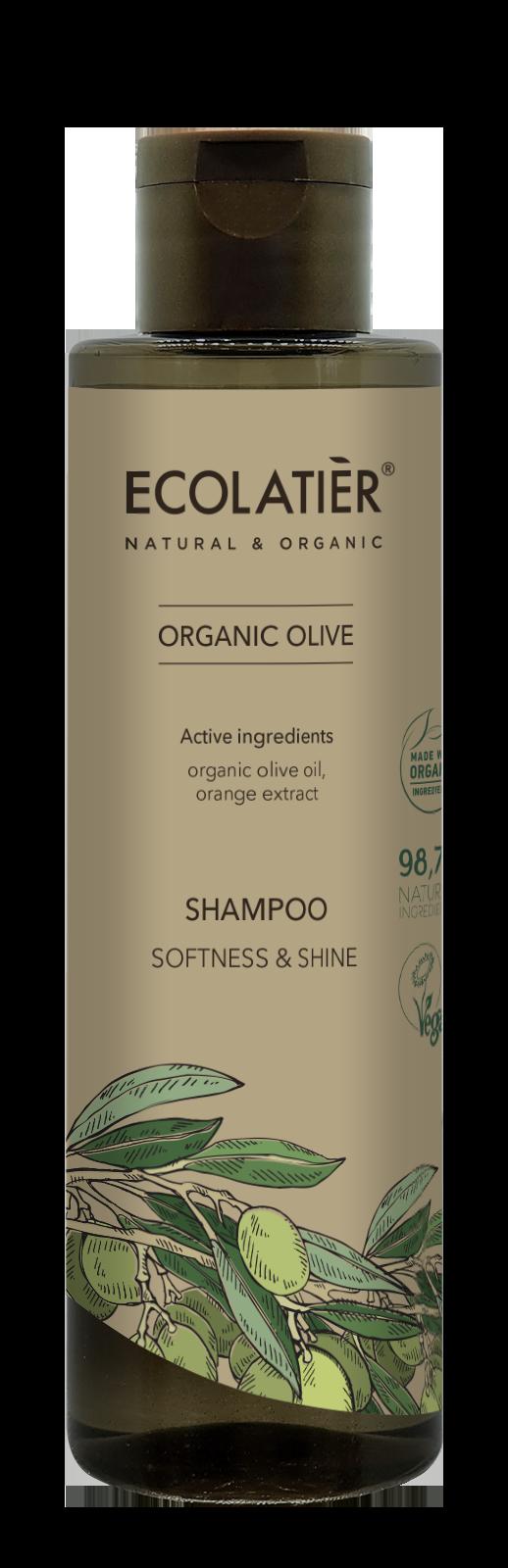 Šampón Oliva - jemnosť a lesk - EcoLatier Organic - 250ml
