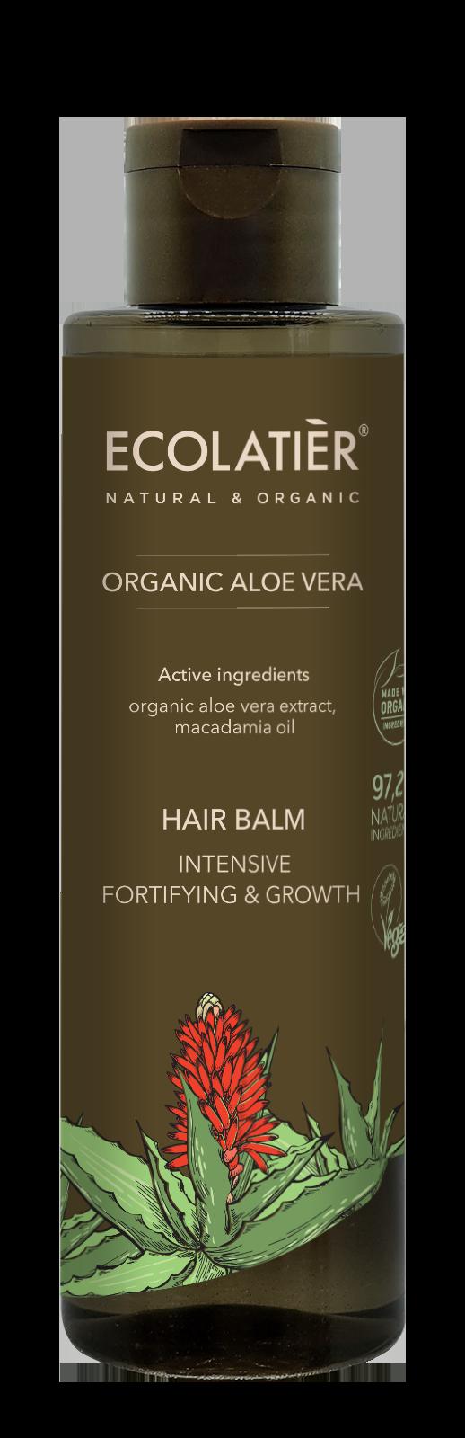 Balzam Aloe vera - posilňuje a podporuje rast vlasov - EcoLatier Organic - 250ml