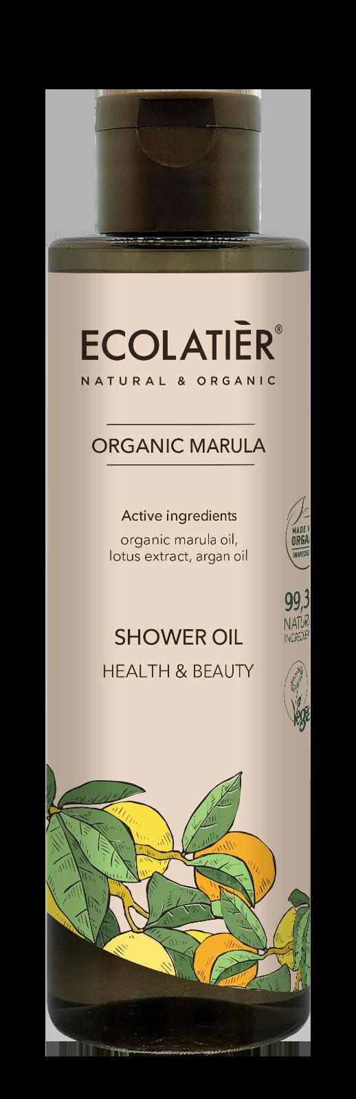 Sprchový olej Marula - pre zdravie a krásu pokožky - EcoLatier Organic - 250 ml