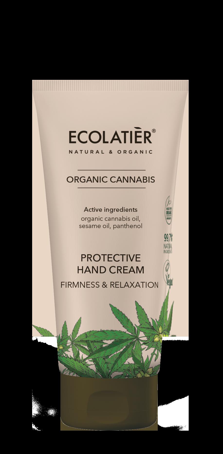 Krém na ruky CANNABIS - Ochranný -EcoLatier Organic - 100ml