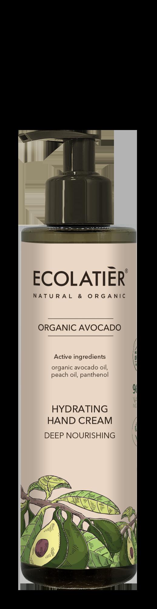 Regeneračný krém na ruky - Avokádo - EcoLatier Organic - 200 ml