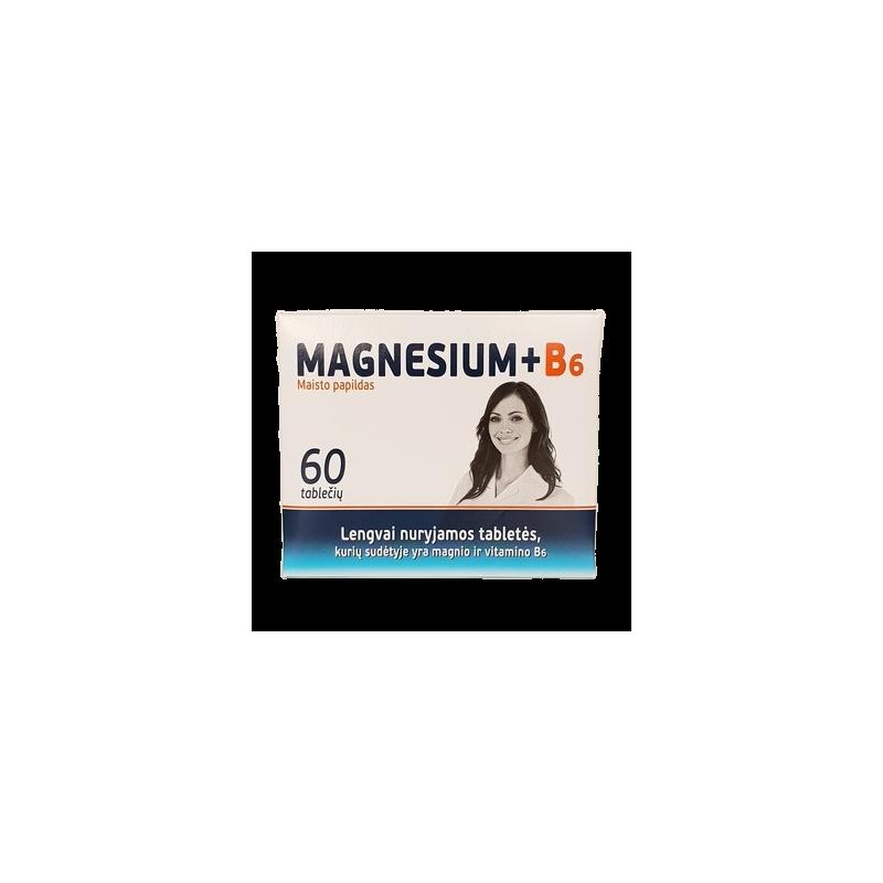 Healt Magnézium a vitamín B6 - 60 tabliet