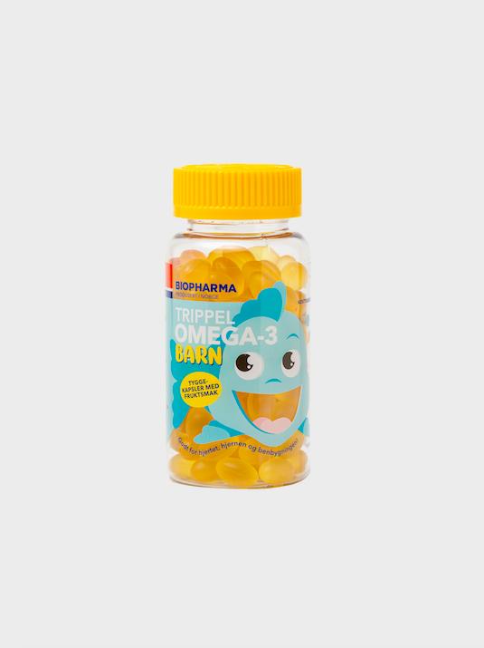 OMEGA 3 – rybí olej - detské žuvacie kapsule - Biopharma - 120 kapsúl