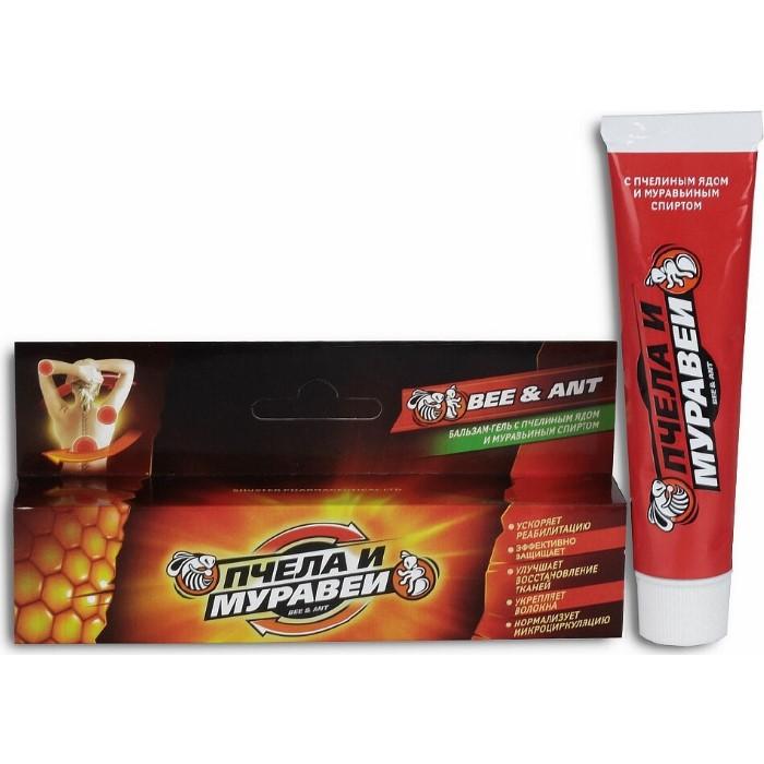 Krémový balzam s včelím a mravčím jedom - Shuster - 44 ml
