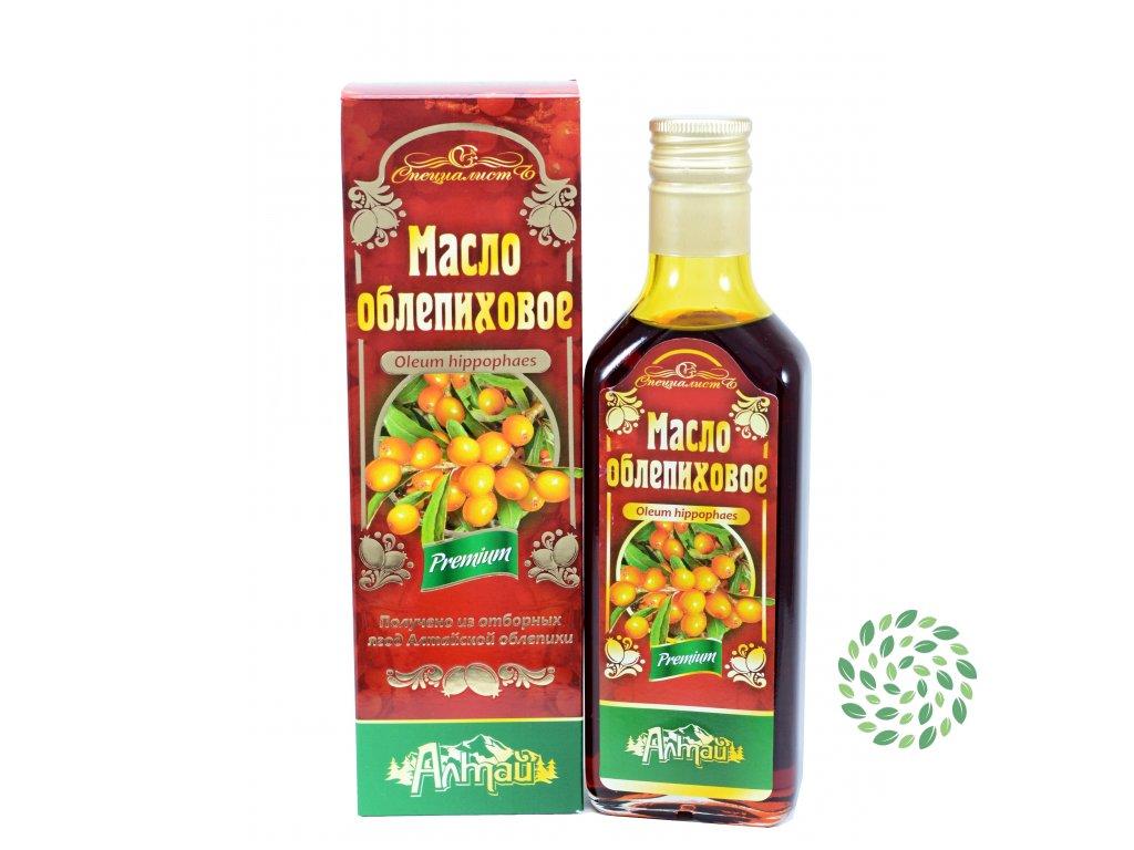 Rakytníkový olej, za studena lisovaný, panenský - Specialist Objem: 250 ml