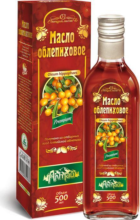 Rakytníkový olej, za studena lisovaný, panenský - Specialist Objem: 500 ml
