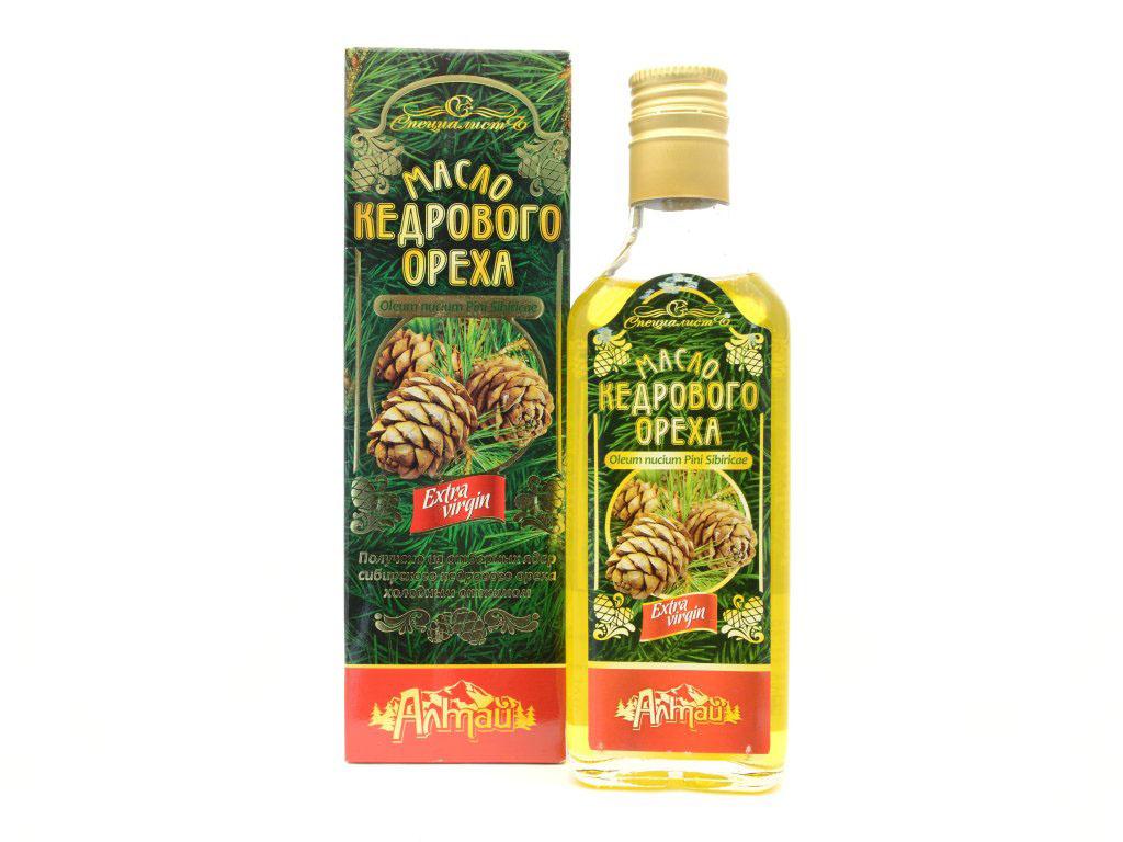 100% Cédrový olej Altajský, za studena lisovaný, panenský - Specialist Objem: 250 ml