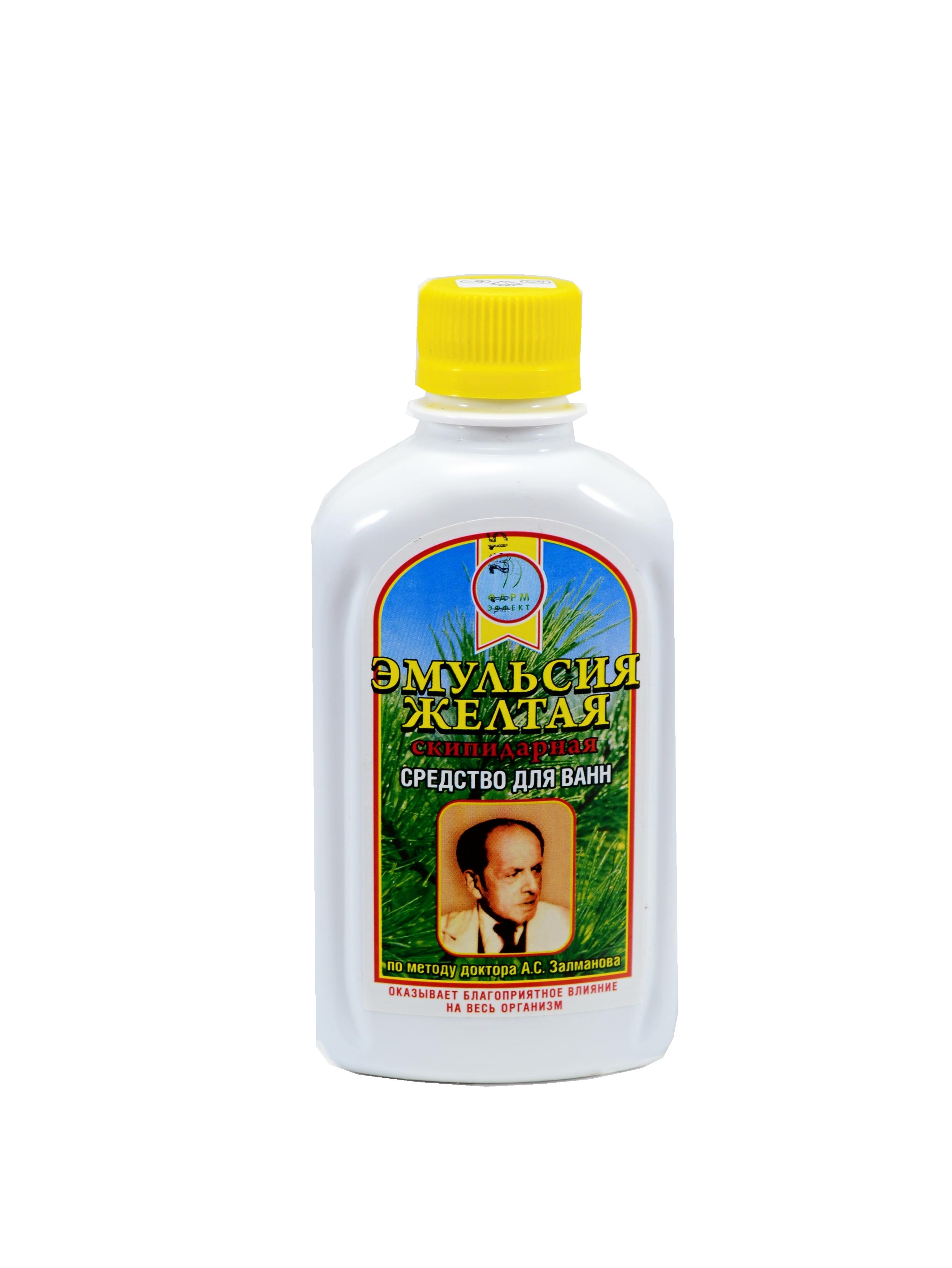Farm-Effekt Žltá živicová emulzia- MUDr. A.S. Zalmanova Balenie: 250 ml