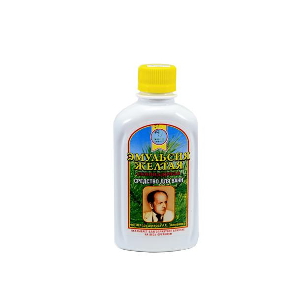 Farm-Effekt Žltá živicová emulzia- MUDr. A.S. Zalmanova Balenie: 500 ml