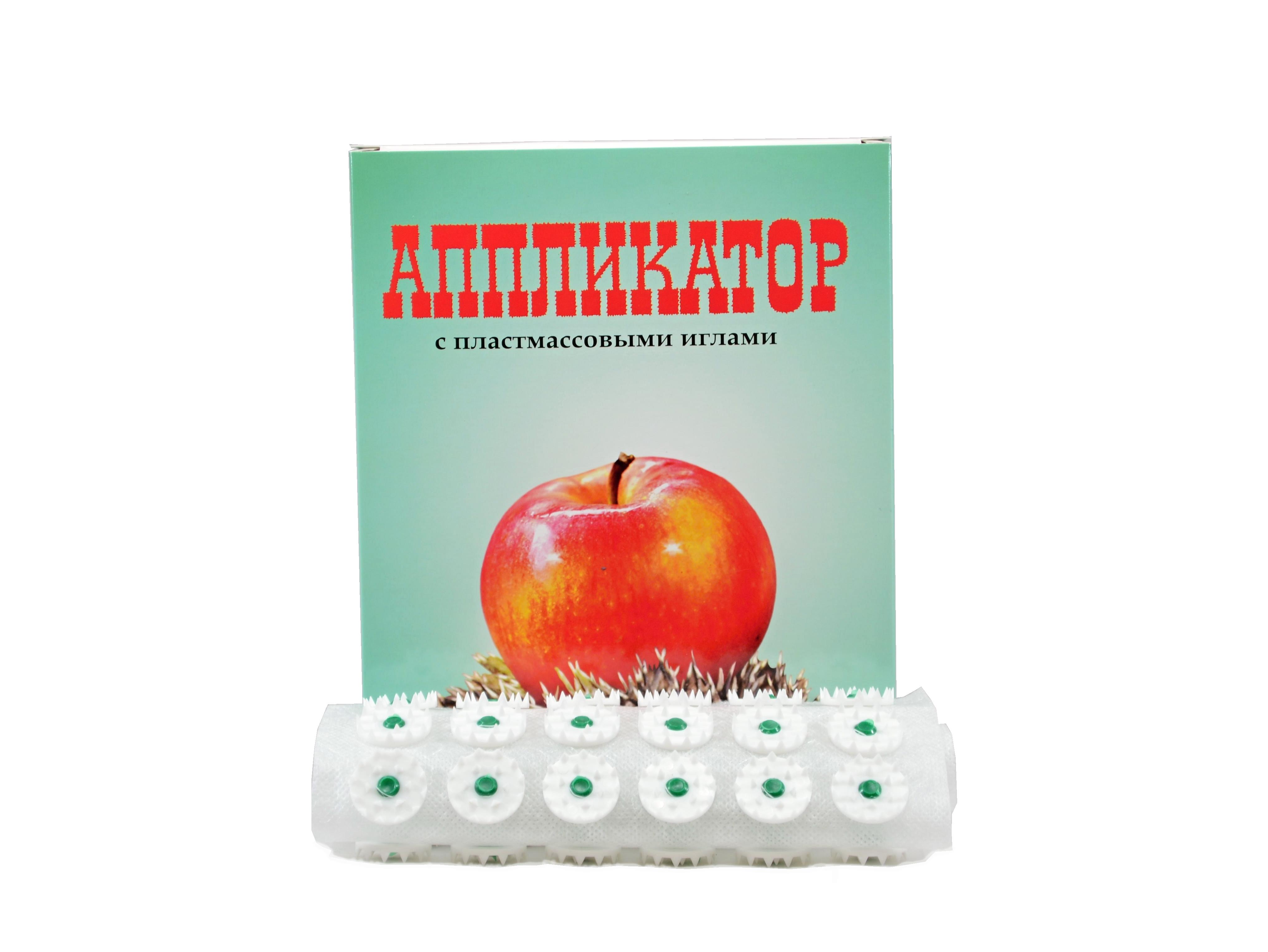 N/A Akupresúrny masážny koberček s plastovými ihličkami