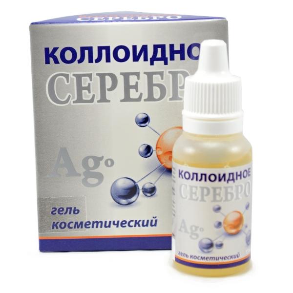 Medikomed Koloidné striebro- kozmetický gél - 15 ml