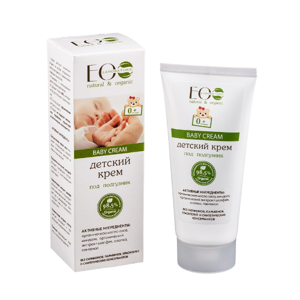 Detský krém proti zapareninám a plienkovej dermatitíde - EOLab - 100ml