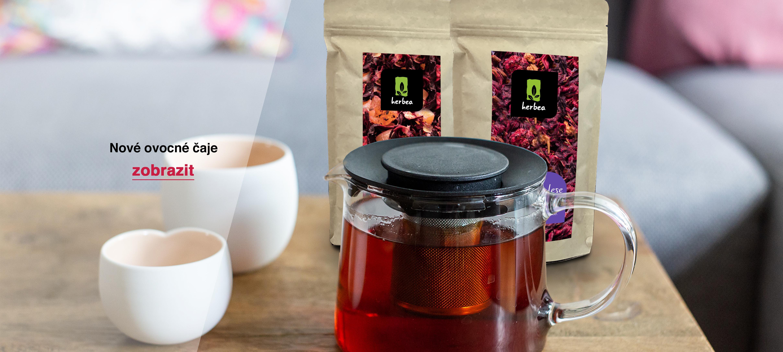 Nové ovocné čaje
