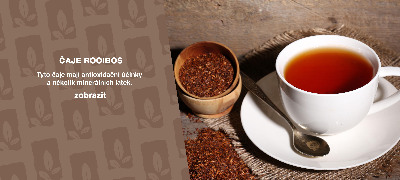 Nabídka čajů Rooibos - Herbea
