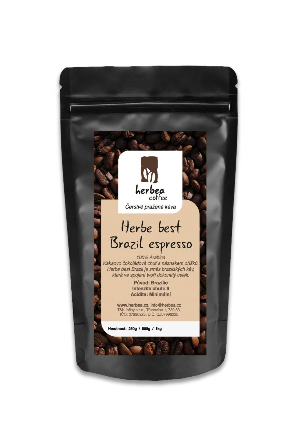 Herbe best Brazil espresso nahled