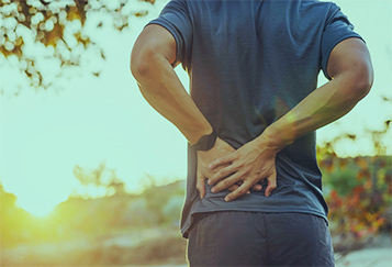 Příčiny bolesti zad a CBD
