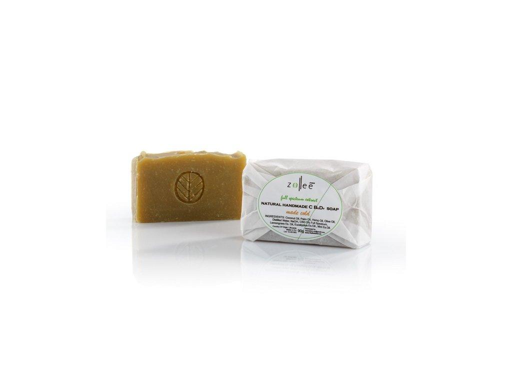 Mydlo natural s CBD Zollee