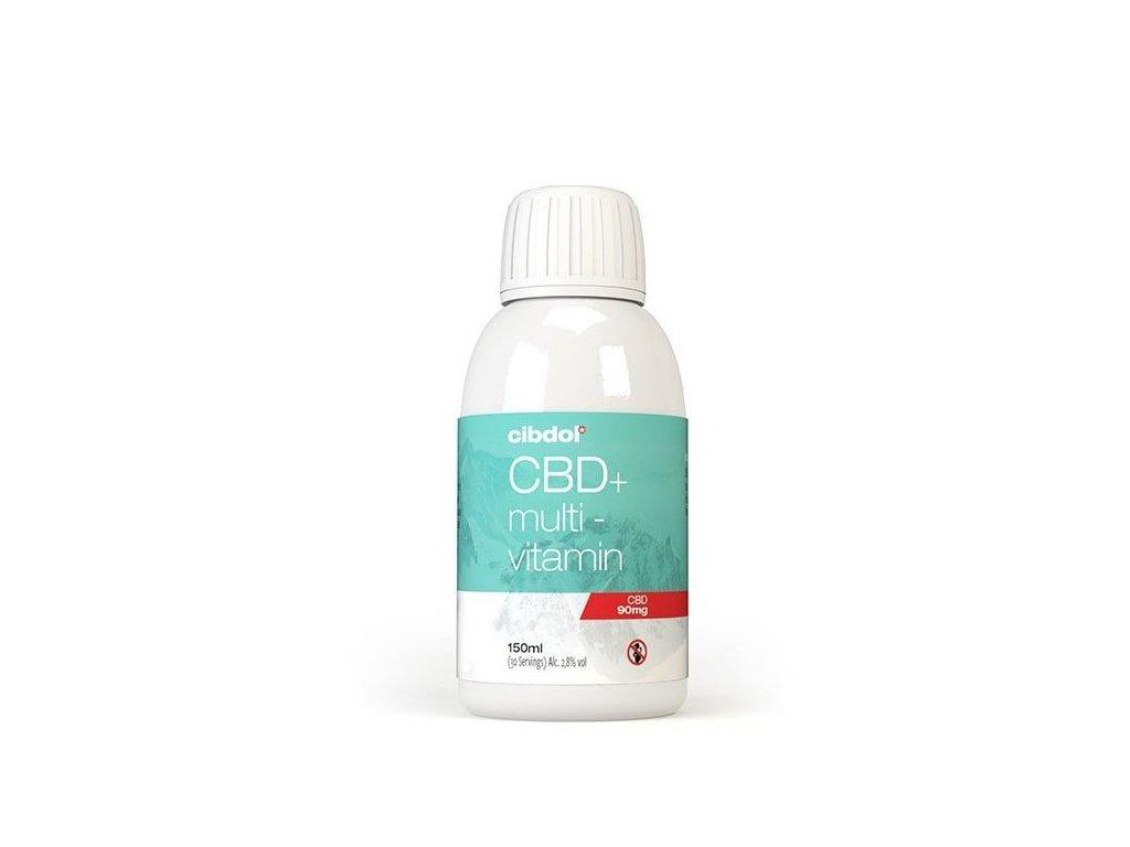 Liposomální Multivitamin, 90 mg CBD, 150 ml