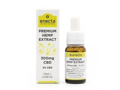 Premium Konopní olej, 300 mg CBD (3%), 10 ml 1