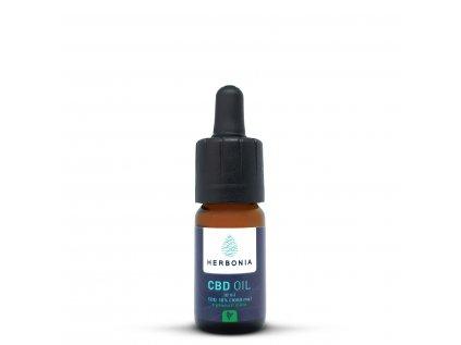 Ochucený CBD Olej, Máta, 1000 mg CBD, (10%), 10 ml