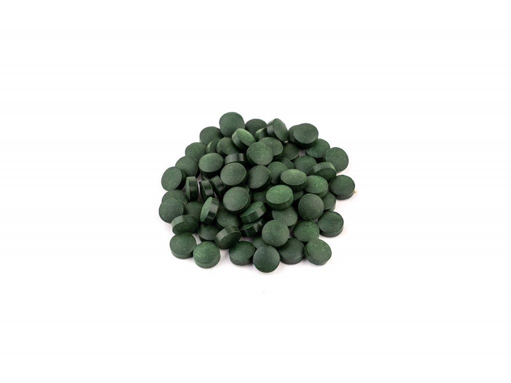 spirulina bio tablety