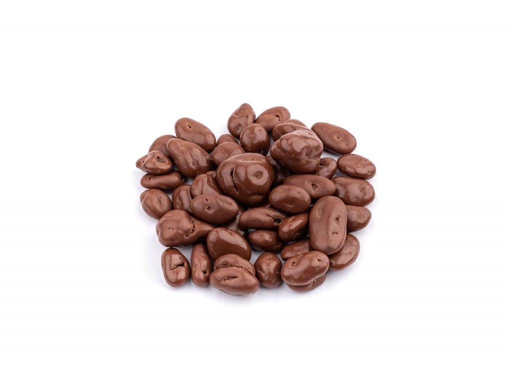 Rozinky v mlecne cokolade