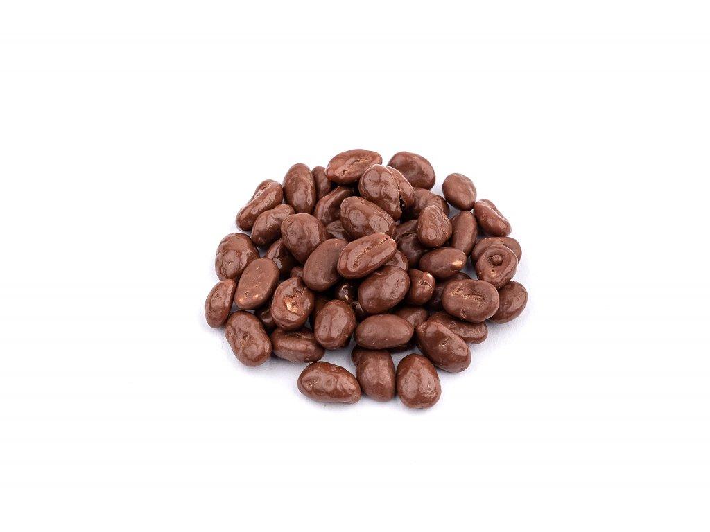 Arasidy v mlecne cokolade
