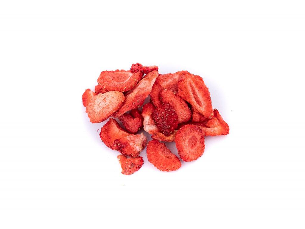 jahody platky lyofilizovane