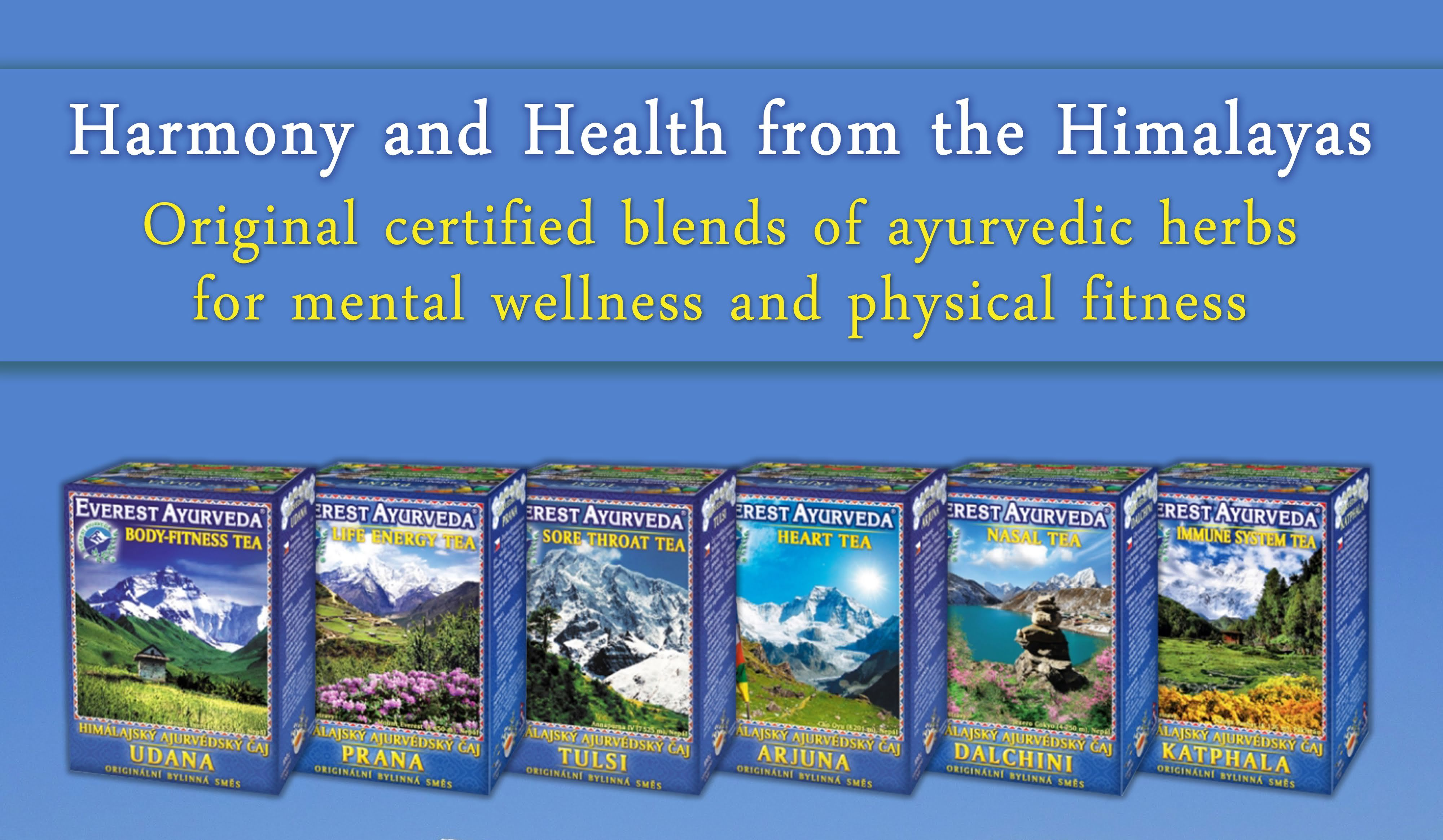 Ayurvedic herbal blends for harmony and health