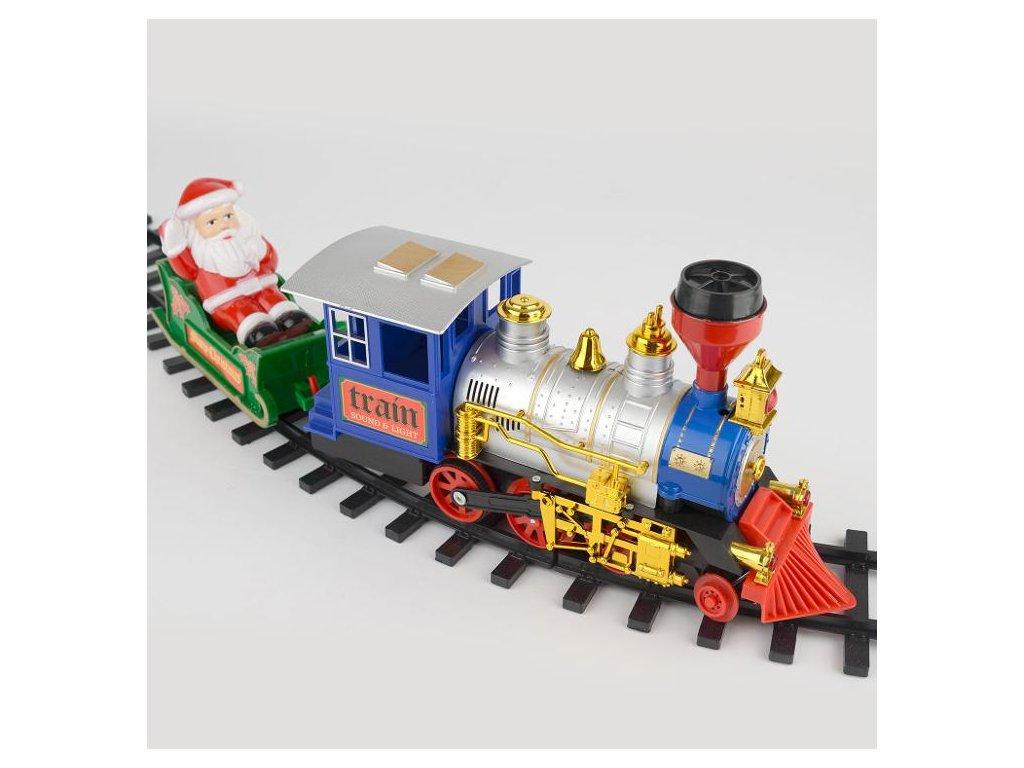 15 dílná vánoční stromová vlaková souprava  vánoční dekorace