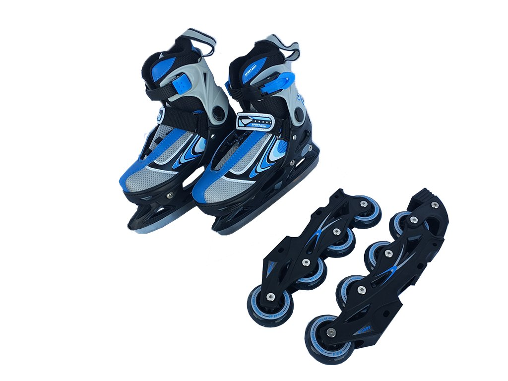 Brusle sportwell 2v1 - Modré