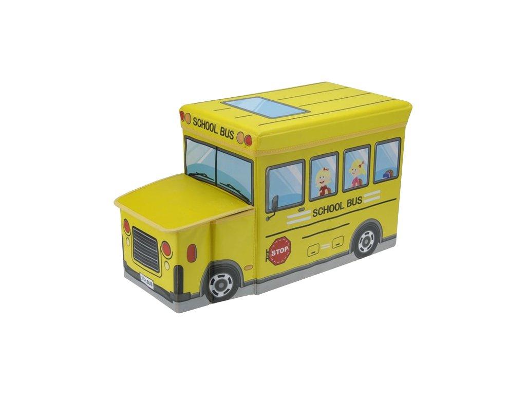 Taburet pro děti / Skládací BOX