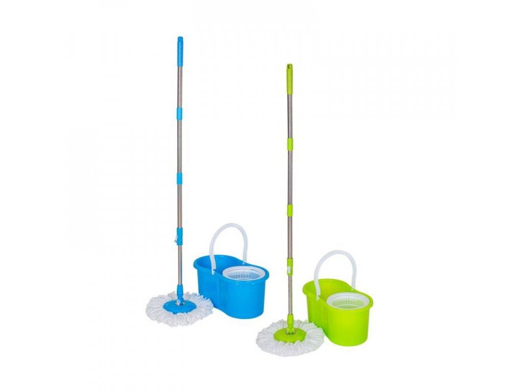 mop spinner 12l rotacni 2hlavice plast