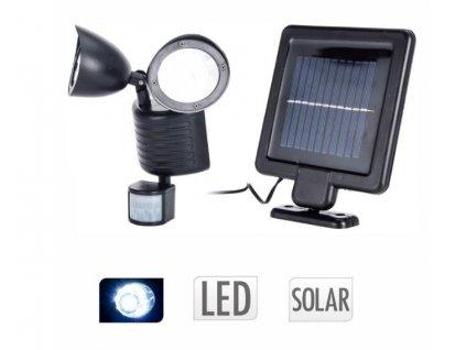 ProGarden Solární venkovní 22 LED osvětlení s pohybovým senzorem